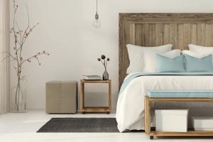 rustige kleine slaapkamer