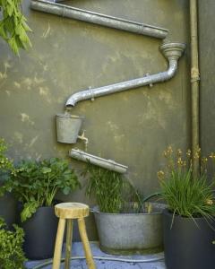 schutting idee regenwater